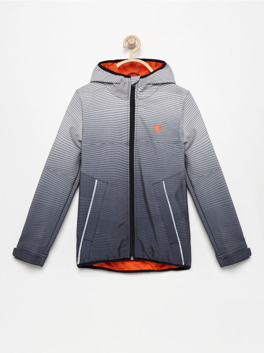 471126977 Buy online! Be Active softshell jacket with hood, RESERVED, UO121 ...