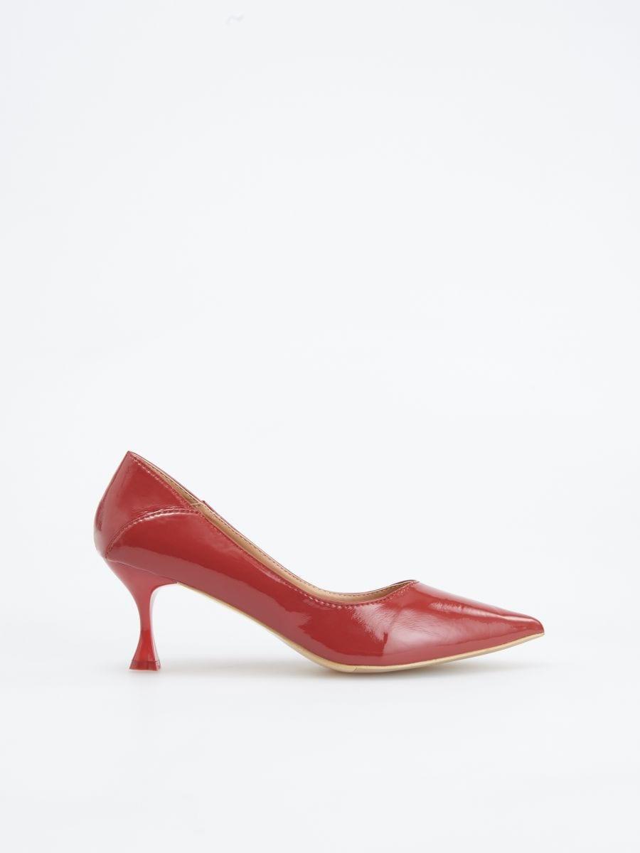 195e97f374 Buy online! Block heel pumps, RESERVED, VH236-39X