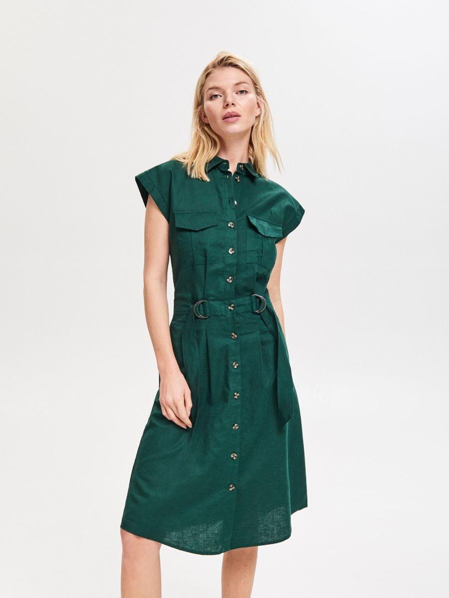 2b0a672181b8 Nakupujte online! Ľanové šaty