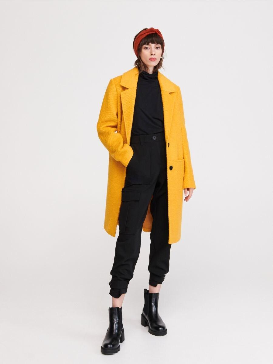 neu billig Rabattgutschein abgeholt Jetzt shoppen! Mantel mit Wolle, RESERVED, VZ592-11X