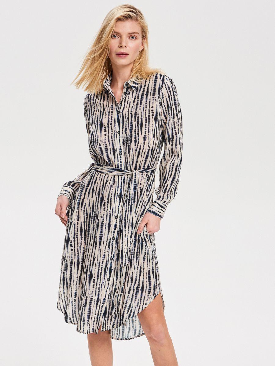 7573f263efdc Nakupujte online! Viskózové košeľové šaty