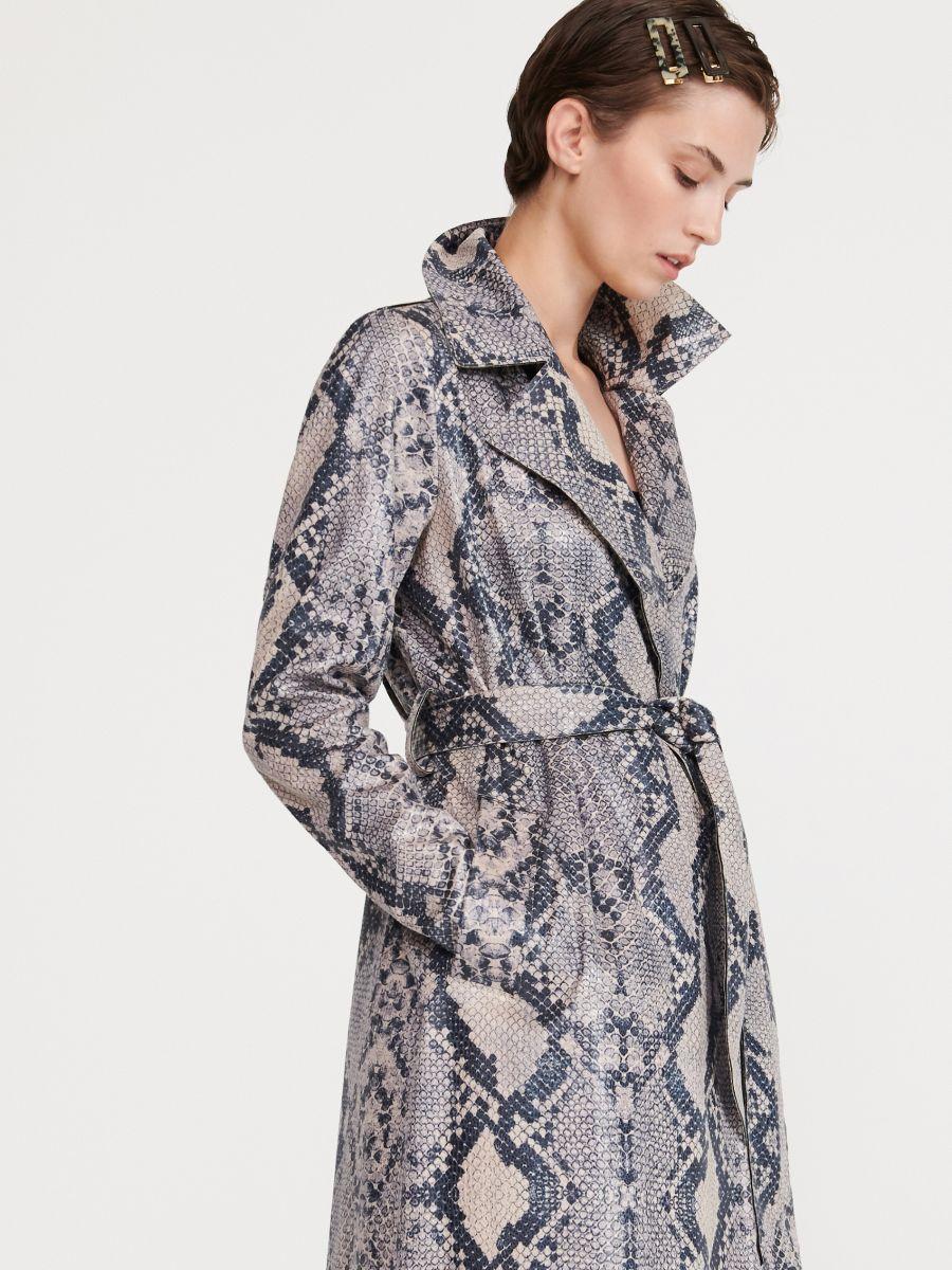 begrenzter Preis niedrigster Rabatt gesamte Sammlung Jetzt shoppen! Mantel mit Schlangen-Print, RESERVED, XK619-MLC