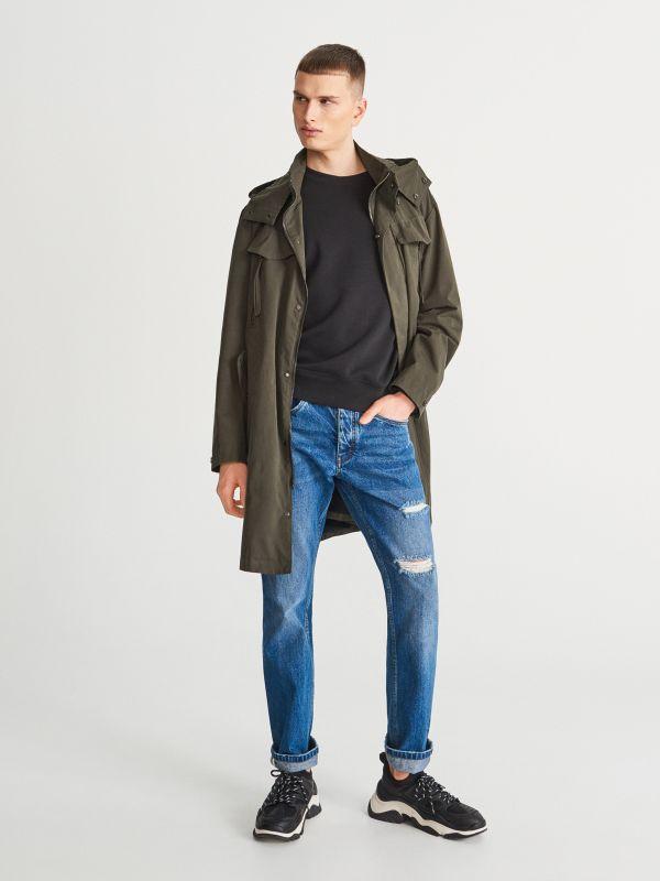 8f983b3c5 Jeansy slim fit · Spodnie jenasowe regular - niebieski - UP094-55J -  RESERVED