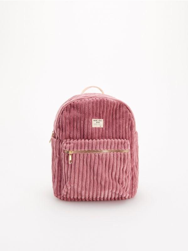 c0458a25e5d63 Taštička ľadvinka · Menčestrový ruksak - ružová - WG698-30X - RESERVED