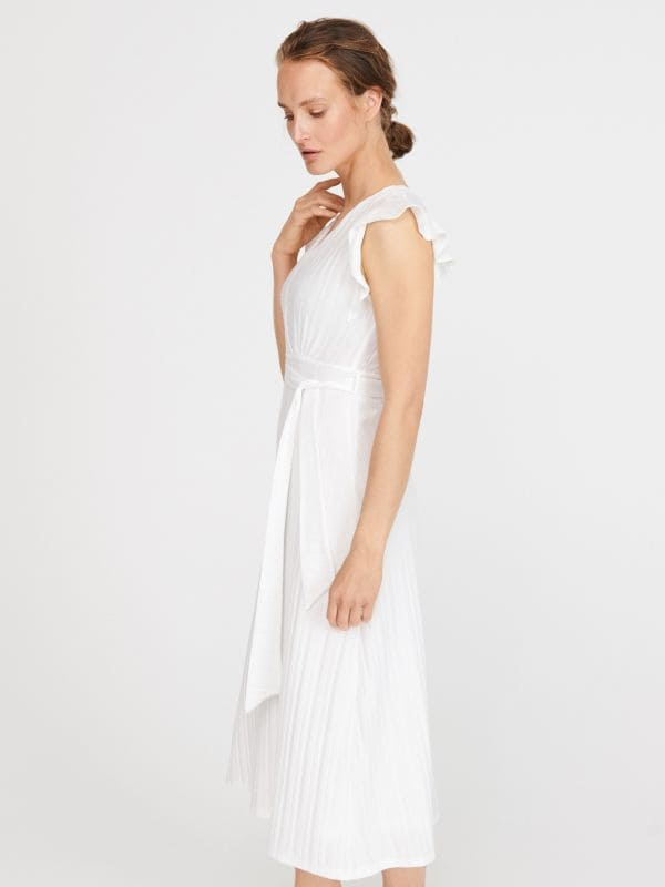 0ed3b53fd4 Növénymintás ruha · Jersey ruha - ekrü - XF204-01X - RESERVED
